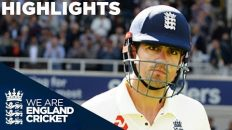 India Dominate Despite Cook's 71   England v India 5th Test Day 1 2018 – Highlights