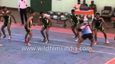 Kabaddi is an indigenous Indian sport – see how it is played!