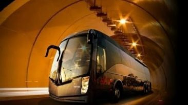 Most Luxurious Bus — Luxury Travel destinations in India on a Bus