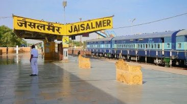 Jaisalmer Railway Station –  Rajasthan Tourism –  Tour India Rajasthan Travel