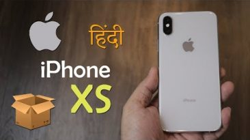 iPhone XS Silver unboxing, India Version, Specification, eSIM and more