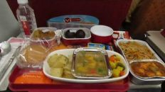 AIR INDIA/AI 93: Food served on board Economy Class!