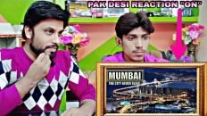"PAK DESI REACTION ""ON"" Mumbai City Tour 