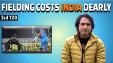Fielding Costs India Dearly | 3rd T20 | Ramiz Speaks