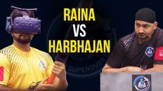 iB Cricket Super Over League | Suresh Raina VS Harbhajan Singh | Yellow Strikers | Black Thunders