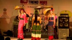 Ethnic fashion show by YES signature brand from India