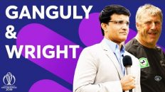 Sourav Ganguly Chats With His Ex-India Coach John Wright! | ICC Cricket World Cup 2019