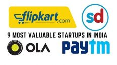 9 Most valuable startups in India