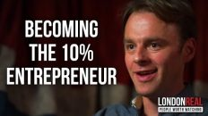 BECOMING A 10% ENTREPRENEUR – Patrick McGinnis on London Real