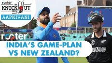 INDIA's game-plan vs NEW ZEALAND? 'Rooter' presents THE KNOCKOUT SHOW with #AapKiVani