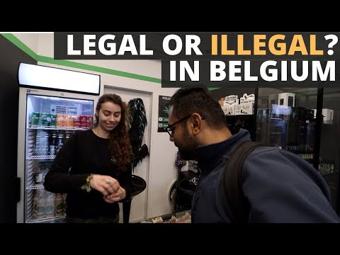 Is it Legal or Illegal in Belgium? Day 1 Exploring the substances of Brussels with Rs. 3000 in Hand