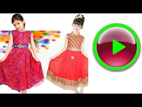 10 Latest indian kids fashion DRESS CLOTHES GOWN FROCK for girls Fashion 2019 picture