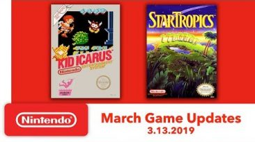Nintendo Entertainment System – March Game Updates – Nintendo Switch Online