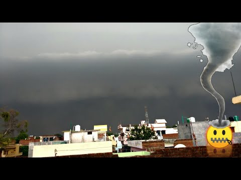 Super Cyclone 😱 || Scary Footage || Hits India || Dangerous || Adventure Nature