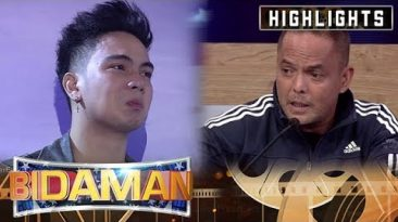 BidaMan Eris cannot handle his emotion | It's Showtime BidaMan
