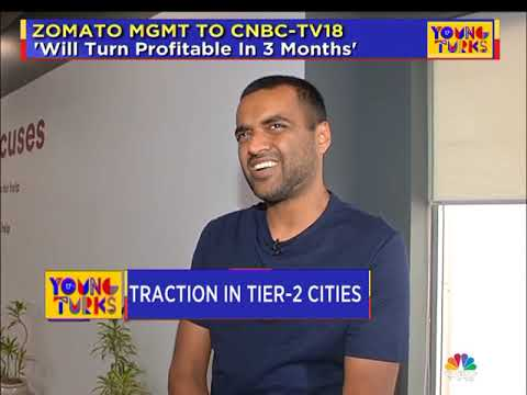 CNBC-TV18's EXCLUSIVE INTERACTION WITH ZOMATO FOUNDER DEEPINDER GOYAL (PART 1)
