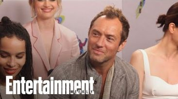 'Fantastic Beasts' Star Jude Law On What Grindelwald Represents | SDCC 2018 | Entertainment Weekly