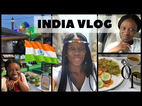 1ST TIME IN INDIA || #EATPRAYLOVE TRAVEL VLOG || SOUTH AFRICAN YOUTUBER
