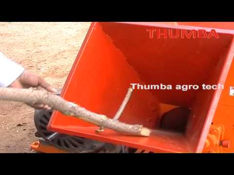 Motor operated chipper And shredder-7.5 Hp-Thumba agro tech-palani.