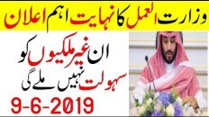 Ministry Of Labour Special Update For Expates In Saudi Arabia