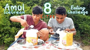 8 Litre Ice Cream Eating Challenge | Massive IceCream Eating Competition | Food Challenge India