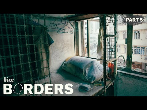 Inside Hong Kong's cage homes